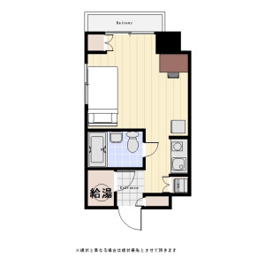 1R Mansion in Yutakacho - Shinagawa-ku Floorplan