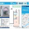 1R Apartment to Buy in Katsushika-ku Map