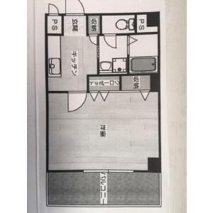 1DK Mansion in Higashitoyonakacho - Toyonaka-shi Floorplan