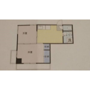 2LDK Mansion in Okubo - Shinjuku-ku Floorplan