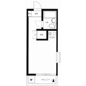 1R Mansion in Kyodo - Setagaya-ku Floorplan