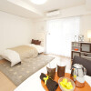 在新宿區內租賃2LDK 公寓大廈 的房產 臥室