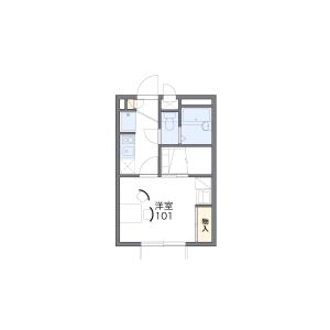 1K Apartment in Shakujiimachi - Nerima-ku Floorplan