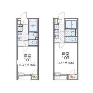 1K Apartment in Kamishakujii - Nerima-ku Floorplan