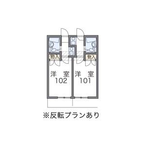 1K Mansion in Komazawa - Setagaya-ku Floorplan