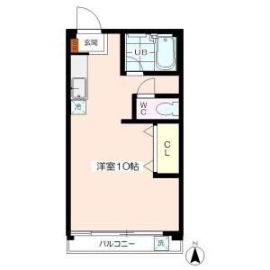 1R Mansion in Hasune - Itabashi-ku Floorplan