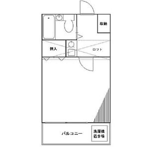 八千代市 大和田 1K アパート 間取り