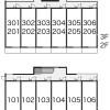 1K Apartment to Rent in Yokohama-shi Minami-ku Layout Drawing
