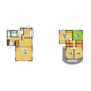 4LDK House in Hirasaku - Yokosuka-shi Floorplan