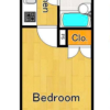 1K Apartment to Buy in Minato-ku Floorplan