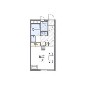1K Mansion in Takamatsu - Nerima-ku Floorplan