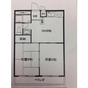 2DK Apartment in Takaishi - Kawasaki-shi Asao-ku Floorplan