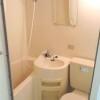在涩谷区内租赁1R 公寓大厦 的 浴室