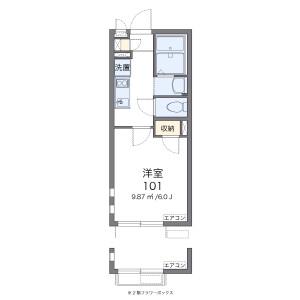 1K Apartment in Kosuge - Katsushika-ku Floorplan