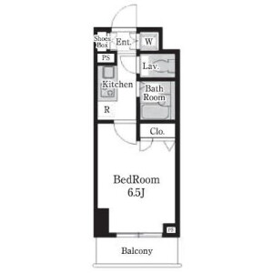 1K Mansion in Ojima - Koto-ku Floorplan
