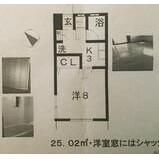 1K Apartment in Takanawa - Minato-ku Floorplan