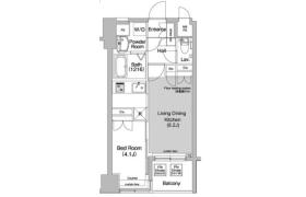1LDK Apartment in Shibakoen - Minato-ku