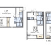 1K Apartment to Rent in Nagoya-shi Kita-ku Floorplan