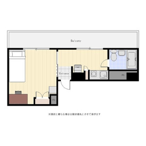 1K Mansion in Yotsuya - Shinjuku-ku Floorplan