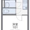 在埼玉市南區內租賃1K 公寓 的房產 房間格局