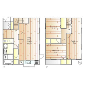 3LDK House in Wakaba - Shinjuku-ku Floorplan