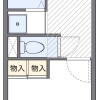 1K Apartment to Rent in Kokubunji-shi Floorplan