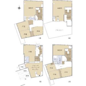 Whole Building {building type} in Oiwakecho - Hachioji-shi Floorplan