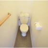 2DK Apartment to Rent in Osaka-shi Higashisumiyoshi-ku Toilet