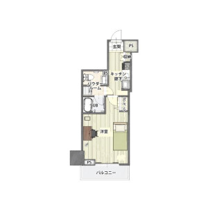 1K Apartment in Yotsuya - Shinjuku-ku Floorplan