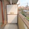 1SLDK Apartment to Rent in Shinjuku-ku Balcony / Veranda