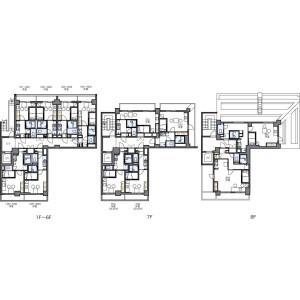 1K Apartment in Hamamatsucho - Minato-ku Floorplan