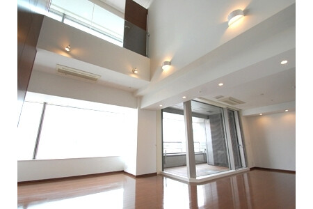 1SLDK Apartment to Rent in Chiyoda-ku Living Room