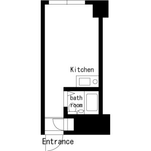 1R Mansion in Kamiyamacho - Shibuya-ku Floorplan