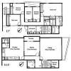 5LDK Apartment to Rent in Minato-ku Floorplan