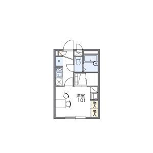 1K Mansion in Kamitakada - Nakano-ku Floorplan
