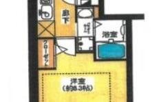 1K {building type} in Saiwaicho - Osaka-shi Naniwa-ku