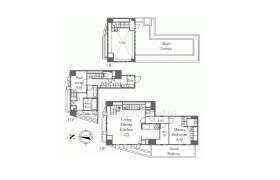 2LDK Apartment in Koenjikita - Suginami-ku