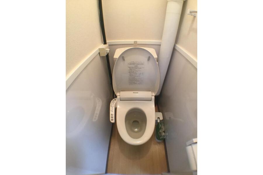 1DK Apartment to Rent in Yokohama-shi Nishi-ku Toilet