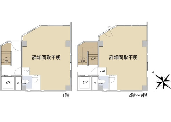Whole Building Office to Buy in Chuo-ku Floorplan