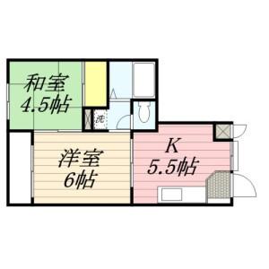 2K Mansion in Buzo - Saitama-shi Minami-ku Floorplan