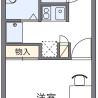 在町田市内租赁1K 公寓 的 楼层布局