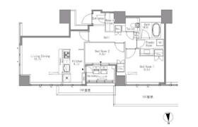 2LDK Mansion in Hamamatsucho - Minato-ku