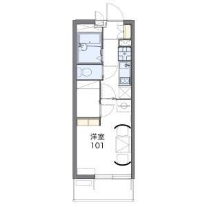1K Mansion in Takanodai - Nerima-ku Floorplan
