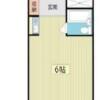 1R Apartment to Rent in Narashino-shi Floorplan