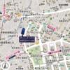 在新宿区内租赁1R 公寓大厦 的 Access Map