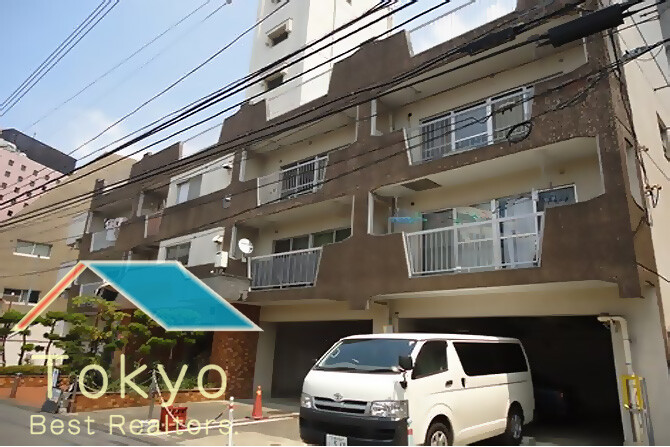 在Shinjuku-ku内租赁1LDK 大厦式公寓 的 户外