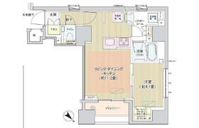 1LDK Mansion in Ginza - Chuo-ku