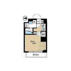 1K Mansion in Okubo - Shinjuku-ku Floorplan